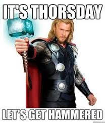 Thursday on Pinterest | Tgif, Stay In Bed and Thor Meme via Relatably.com