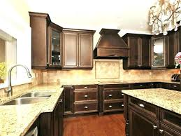 brown and white granite countertops brown cabinets with white dark cabinets white dark cabinets white granite