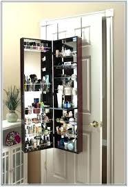 lovely mirror makeup storage makeup organizer wall wall mounted makeup organizer over the door mirror makeup