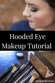 hooded eye makeup tutorial cur beauty favorites from heather of mylifewellloved