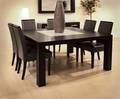 Dining Table Sets Wood Modern Dining Room Pinterest Square - Modern wood dining room sets