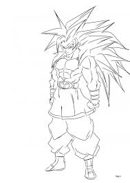 Small Picture Printable Goku Coloring Pages Coloring Me
