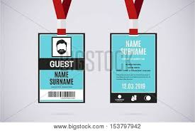 Guest Card Vector Id free Bigstock Event Trial Photo amp;