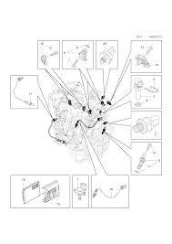 Opel insignia powertrain sensors and engine control module 291111 6