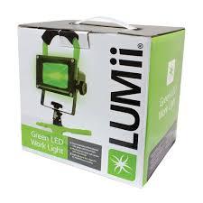Green Led Work Light Lumii 10 465 205 Led Work Light Green Amazon Co Uk