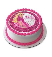 Fondant Barbie Cake 1 Kg India Cakes N Flowers