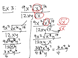 last_thumb1477493330 showme simplify radicals with mixed variables on graphing radical functions worksheet