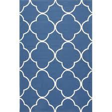 jaipur rugs barcelona sparten 2 x 3 indoor outdoor rug blue ivory ultimate patio