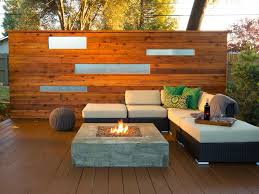 Image Pallet Shop This Look Hgtvcom Deck Furniture Options And Ideas Hgtv