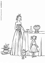 Small Picture Princess and dog coloring pages Hellokidscom