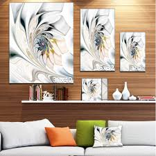 shop white stained glass floral art large floral wall art canvas on sale free shipping on orders over 45 overstock 12417295 on wall art canvas for living room with shop white stained glass floral art large floral wall art canvas