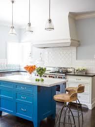 Yellow And Blue Kitchen Kitchen Kitchen Island Coastal Kitchen Blue And White Kitchen