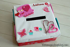 Valentine Shoe Box Decorating Ideas Valentine Box Decorating Ideas Valentines Box The Sunny Side Up 22