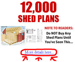 Small Picture Shed Plans 1016 Garden Shed Plans Building Your Own Garden