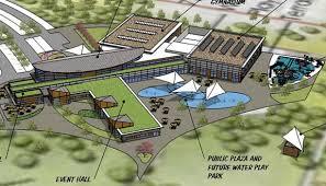 architecture design concept. Grand Valley Community Recreation Center Concepts Architecture Design Concept