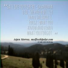Quotes from Aspen Morrow: Eat like your great-grandma did, she ... via Relatably.com