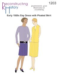 1920s Dress Patterns Enchanting RH48 48s Day Dress Reconstructing History