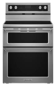 double oven with cooktop. Delighful With KitchenAid 30in Smooth Surface 5Element 42cu Ft  25 Intended Double Oven With Cooktop