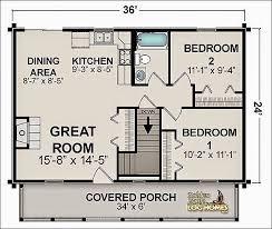 11 2 bedroom house plans under 1000 sq ft