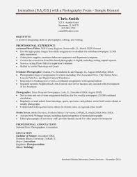 sample photography resumes things that make you love invoice and resume template ideas