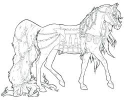 Horse Coloring Pages For Adults Printable Horse Coloring Pages Free