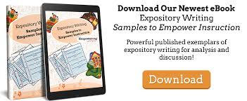 a th grade expository student writing sample empowering writers ebook