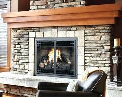 gas fireplace glass doors gas fireplace door natural gas fireplace glass doors open or closed gas
