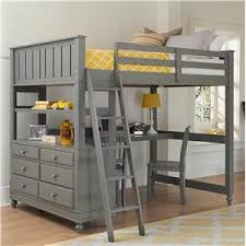 kids bed store.  Bed NE Kids Lake House Full Loft Bed With Desk On Store S