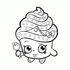 A Lot Of Cute Shopkins Coloring Pages Leuk Voor Kids