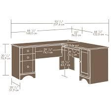com sauder harbor view corner computer desk antiqued paint kitchen dining diy home decor
