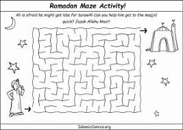 Small Picture Ramadan Coloring Pages Activity Sheets Islamic Comics