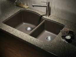 kitchen sink composite apron front sink white double bowl