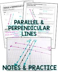 writing and graphing parallel and perpendicular lines guided notes and practice
