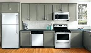 spray paint kitchen cabinets diy