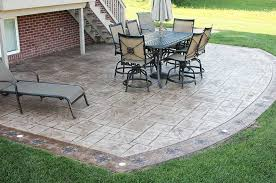 groovy provide stained concrete installation aggregate cement patio stamped concrete patios patio
