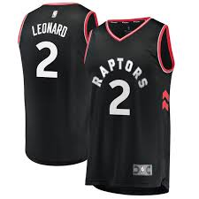 Branded Jersey Fast Men's Statement Kawhi Leonard Replica Player - Edition Raptors Fanatics Break Toronto Black