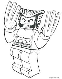 Free Lego Marvel Coloring Pages Marvel Coloring Pages Wolverine