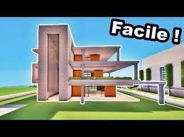 ment faire une grande maison moderne facilement tuto minecraft