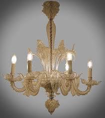 small 1940 s chandelier in murano glass chandelier