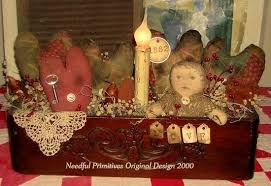 primitive valentines decor primitive valentine decor primitive decorating my style