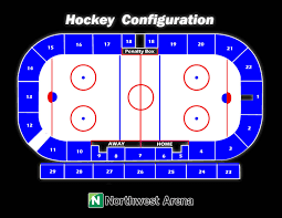 Northwest Arena Seating Charts