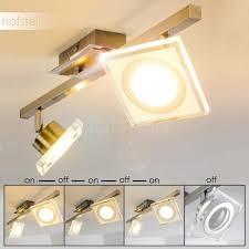 kolari ceiling light led chrome matte nickel h3007075