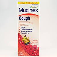 children s mucinex cough dosage rx