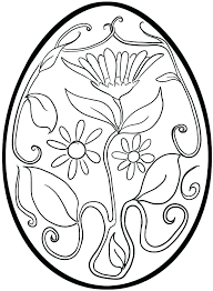 Egg Coloring Pages By Designs Egg Coloring Pages Easter Egg
