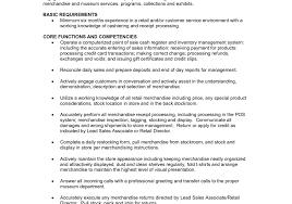 marvelous sales associate job description for resume duties sales human resource associate job description