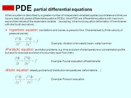 pde partial diffeial equations