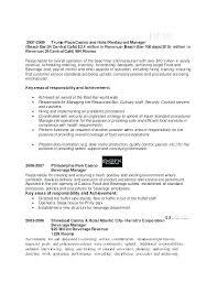 Restaurant Manager Resume Sample Assistant Restaurant Manager Cv