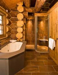 Log Cabin Bathroom Decor Log Home Bathroom Decor Guest Bathroom Wall Decor With Two Framed