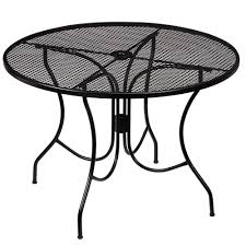 commercial outdoor dining furniture. Hampton Bay Nantucket Round Metal Outdoor Dining Table Commercial Furniture U