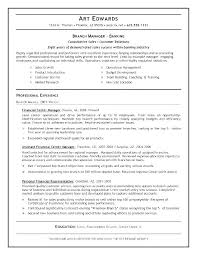 Bank Manager Job Description Assistant Bank Manager Sample Resume Podarki Co